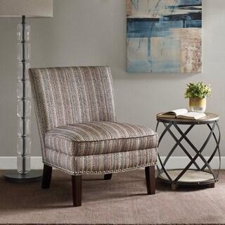 Madison Park Alex Purple Slipper Accent Chair