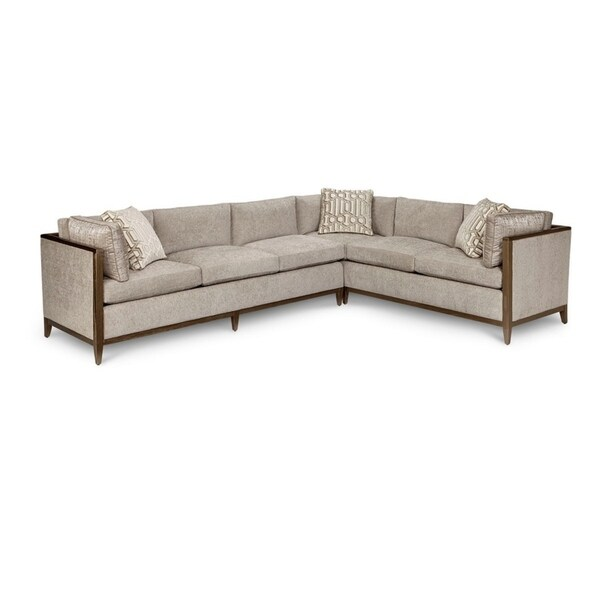 A R T Furniture Cityscapes Astor Crystal Left Arm Facing Sofa Right Corner