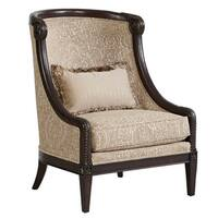 A.R.T. Furniture Giovanna Azure Carved Wood Accent Chair