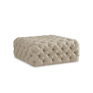 A.R.T. Furniture The Foundry Upholstered Banks Tufted Ottoman