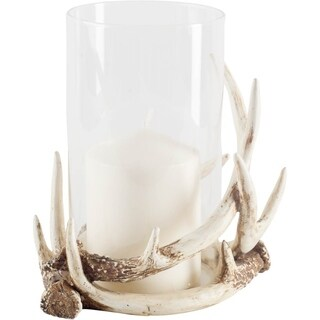 Mercana Rolston Wooden Table Top Candle Holder