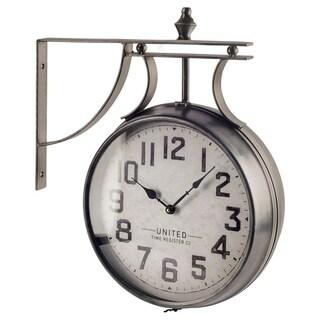 Mercana Lindsay Metal Wall Clock