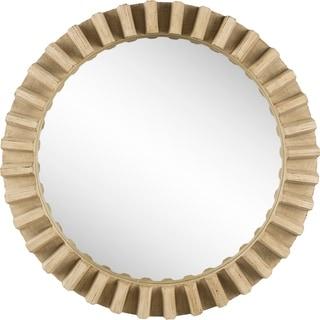Mercana Sprocket Mirror III Wall Mirror - Natural - A/N