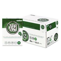 Boise X-9 Copy and Laser 3-Hole Paper (Case of 5000)