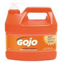 GOJO NATURAL ORANGE One Gallon Smooth Hand Cleaner (Pack of 4)