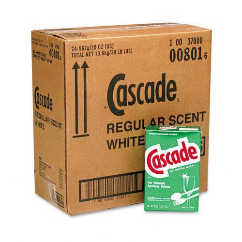 Cascade 20 Ounce Automatic Dishwasher Powder (Case of 24)