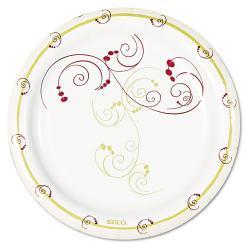 SOLO Symphony Design Paper Plates (Case of 1,000)