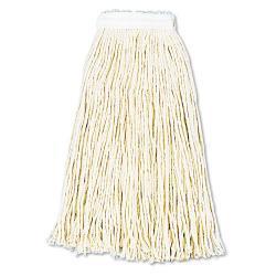 UNISAN 16-oz Cotton Cut-End Wet Mop Heads (Pack of 12)