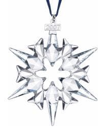 Annual Austrian Crystal 2007 Snowflake Ornament