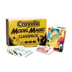 Crayola Model Magic Assorted Colors 1 oz Modeling Compound Pouches (Case of 75)