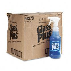 Glass Plus Glass Cleaner (Case of 12)