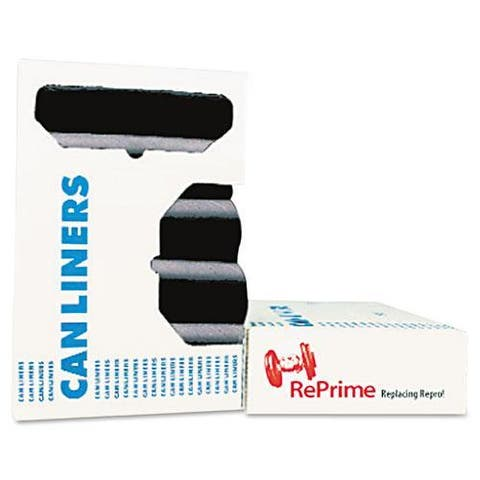 Heritage Black RePrime Can Liners 37 x 50 1.3 mils (Case of 100)