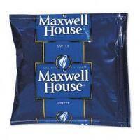 Maxwell House Regular Premeasured Coffee Packs, 1-1/2oz Packs (Case of 42)