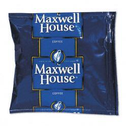 Maxwell House Regular Premeasured Coffee Packs, 1-1/2oz Packs (Case of 42)