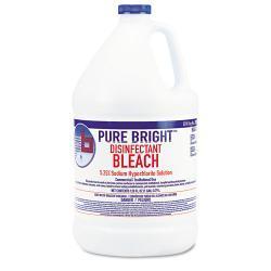 Boardwalk Liquid 1 Gallon Bottle Bleach (Pack of 6)