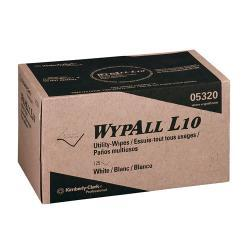 WYPALL L10 Pop-Up 9-inch x 10.5-inch White Utility Wipes (Case of 2250)