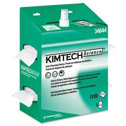 Kimtech Science Kimwipes 4.5-inch x 8.5-inch Pop-Up White Lens Cleaning Station (Pack of 4)