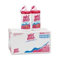 Wet Ones Antibacterial Moist Towelettes (Pack of 12)