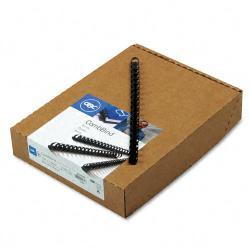 GBC CombBind Spines with 85-Sheet Capacity (Case of 100)