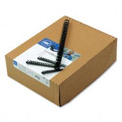 GBC CombBind Spines with 125-Sheet Capacity (Case of 100)