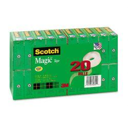 Scotch Magic Matte-Finished Clear Office Tape Value Pack