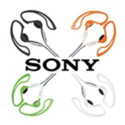 Sony MDRJ10 Black Stereo Earphones