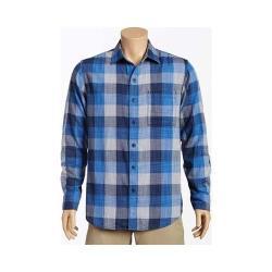 Men's Tommy Bahama Dual Lux Plaid Long Sleeve Shirt Bering Blue - Thumbnail 0