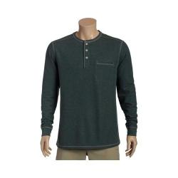 Men's Tommy Bahama Island Thermal Henley Shirt Military Heather