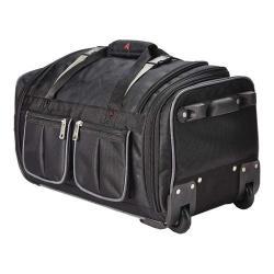 Athalon 15-Pocket 34in Wheeling Duffel Bag Black