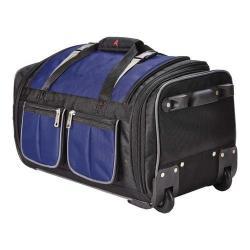 Athalon 15-Pocket 34in Wheeling Duffel Bag Navy/Gray