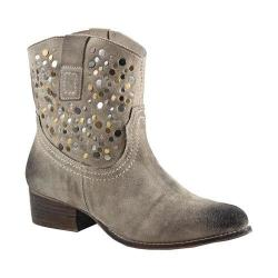 Women's Diba True Flying Solo Bootie Off White Burnished Suede