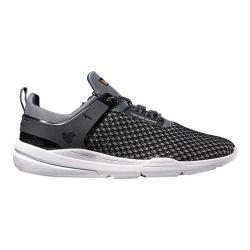 Men's DVS Cinch LT+ Sneaker Black/Grey Textile