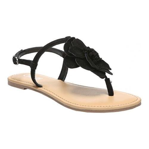 4308214f76e Shop Women s Carlos by Carlos Santana Adalyn Thong Sandal Black Kid Suede -  Free Shipping On Orders Over  45 - Overstock.com - 18264428