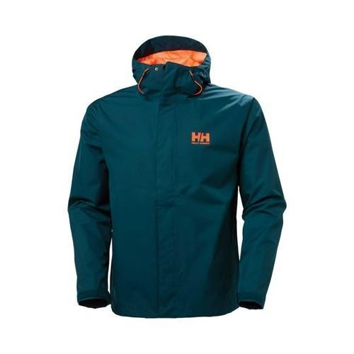 2eff6a81411 Shop Men's Helly Hansen Seven J Jacket Midnight Green - Free Shipping Today  - Overstock - 18230832