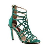 Women's Luichiny Ask A Girl Sandal Emerald Suede