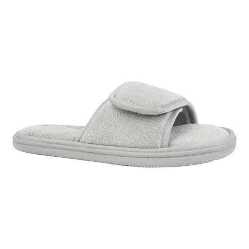 c016d6105 Shop Women's Tempur-Pedic Geana Spa Slipper Gray Terry Cloth - Free  Shipping On Orders Over $45 - Overstock - 18264545