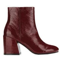 Women's Kenneth Cole New York Randii Bootie Wine Patent Leather