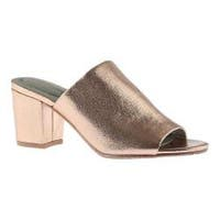 Women's Kenneth Cole Reaction Mass-Ter Mind Mule Rose Gold Metallic