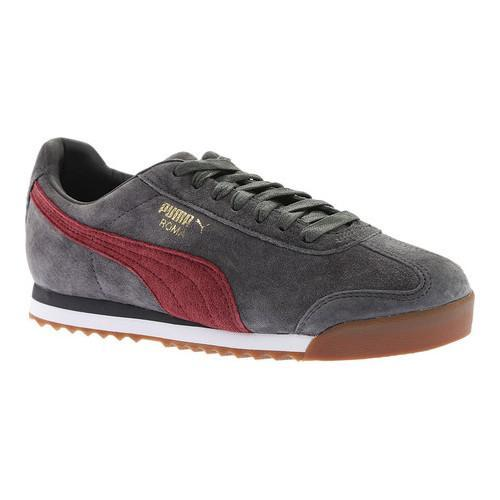 2c237d96bc5 Shop Men s PUMA Roma Gents Sneaker Asphalt Cordovan - Free Shipping Today -  Overstock - 18266092
