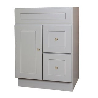 Shaker Grey Bathroom Vanity 24x18