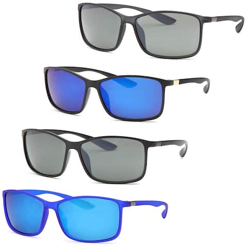 AFONiE Summer Sunglasses for men - 4Pack