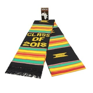 Handwoven Ghana Kente Sash - Class of 2018