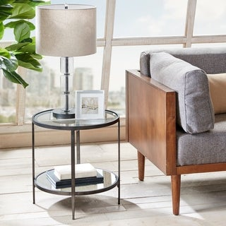 Link to Carson Carrington Otepaa Grey End Table Similar Items in Living Room Furniture