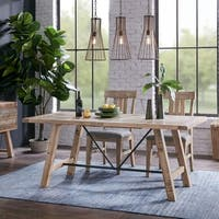 INK IVY Sonoma Natural Dining Table - Oak