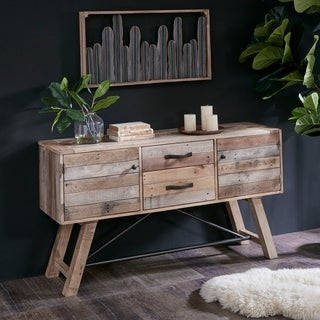 "INK IVY Sonoma Natural Buffet - 58""w x 17""d x 32.50""h"