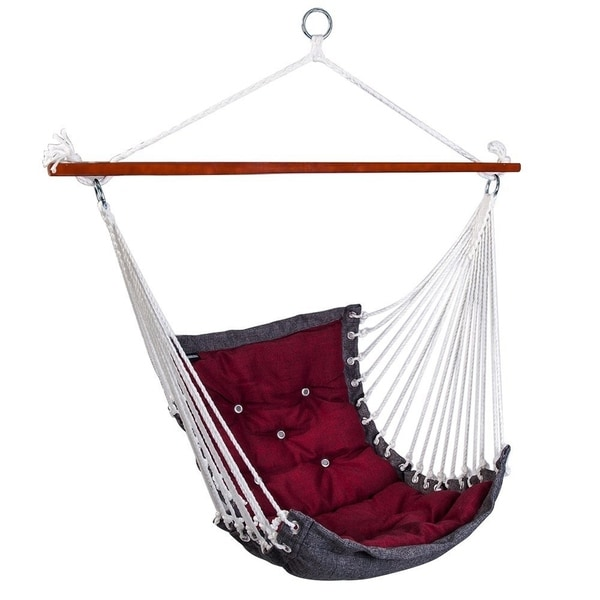 Shop Hanging Rope Hammock Chair Swing Seat For Indoor Or Outdoor