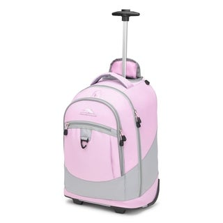 High Sierra Chaser Wheeled Laptop Backpack, Iced Lilac/Ash