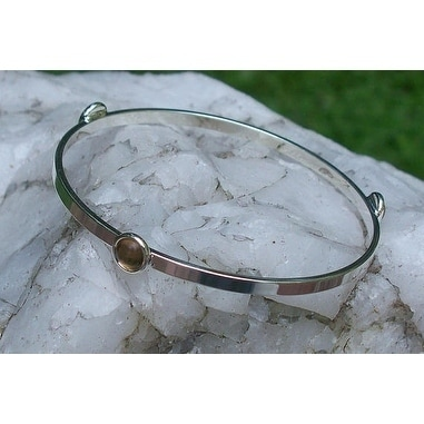 Recycled Antique Pink Depression Gl Stacking Bangle Bracelet Free Shipping On Orders Over 45 26802353