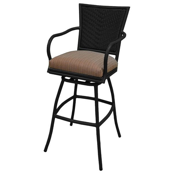 Tremendous Shop Patio Outdoor Swivel Counter Bar Stool 30 Erin Pabps2019 Chair Design Images Pabps2019Com