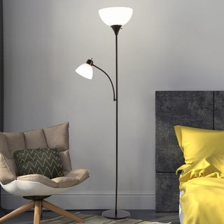 Torchiere Floor Lamp Reading Light WH